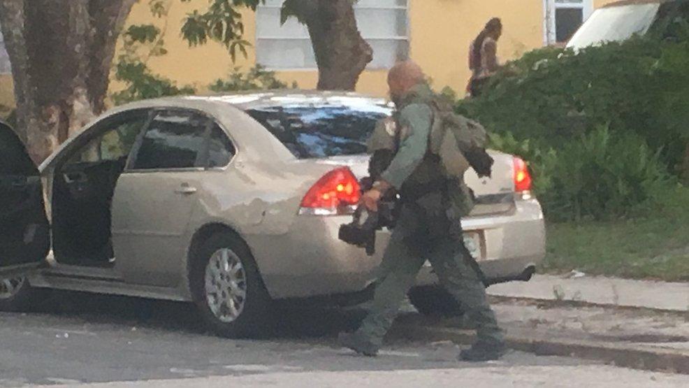 Heavy Police Presence In West Palm Beach Wpec