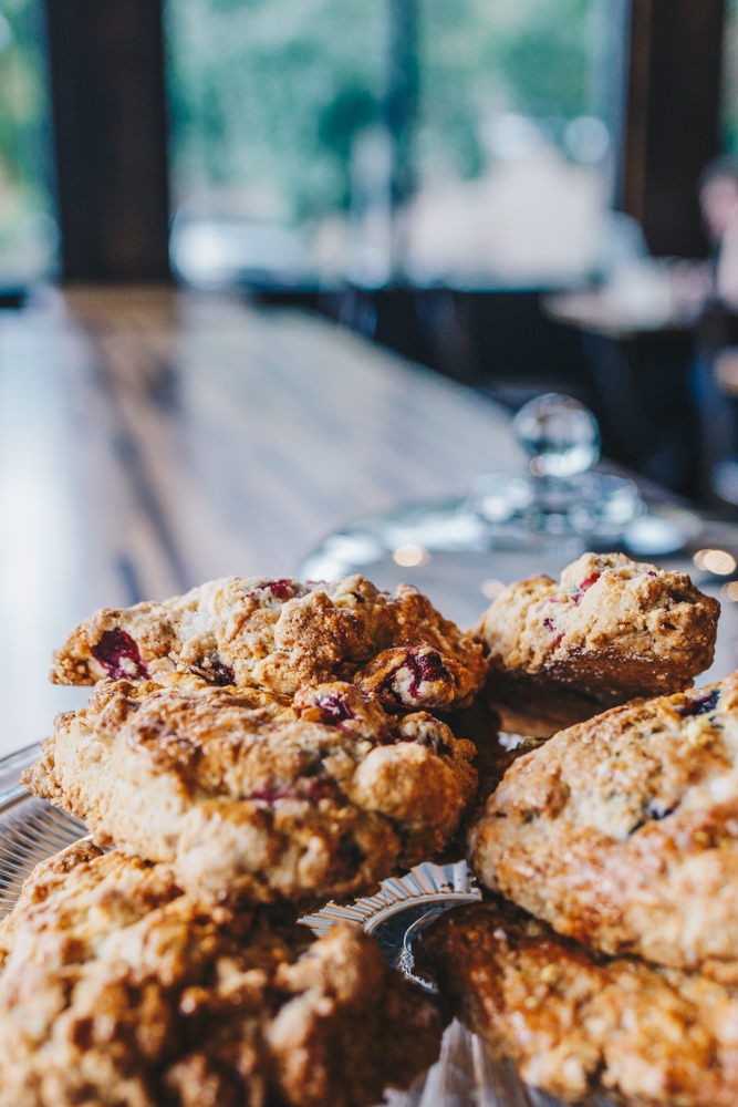 Cranberry and blueberry scones{ }/ Image: Catherine Viox // Published: 11.15.18