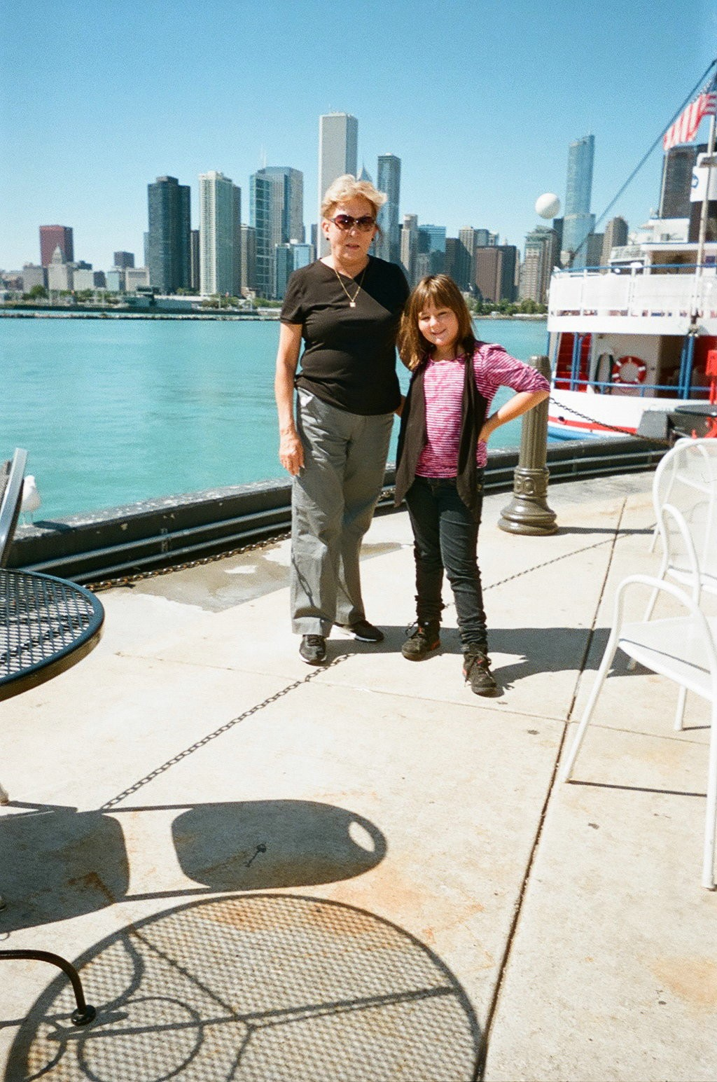 Jocelyn Trujillo-Pierce and her grandmother. (Courtesy:  Amparo and Albert Munoz.)