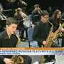 Spencerport jazz band, trombone virtuoso team up