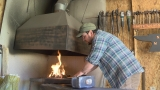 Local blacksmith competes on TV show
