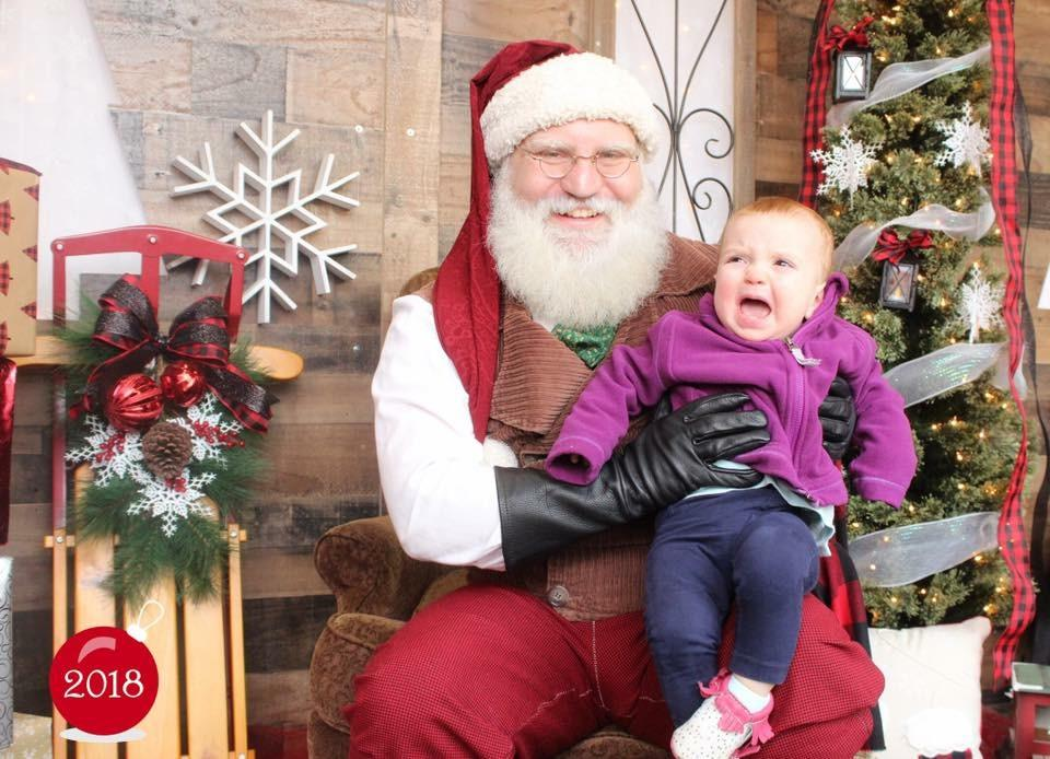 Ah, Santa Claus - the glorious bearded man in the big red suit who fulfills our kiddos holiday dreams and wishes.  Also doubling as, apparently, the scariest man alive. Grab a glass of eggnog, sit back and feast your eyes on these Santa pics gone wrong - or as I call them...realistic Santa pics. (Image: Elizabeth Neidzwski){&nbsp;}<p></p>