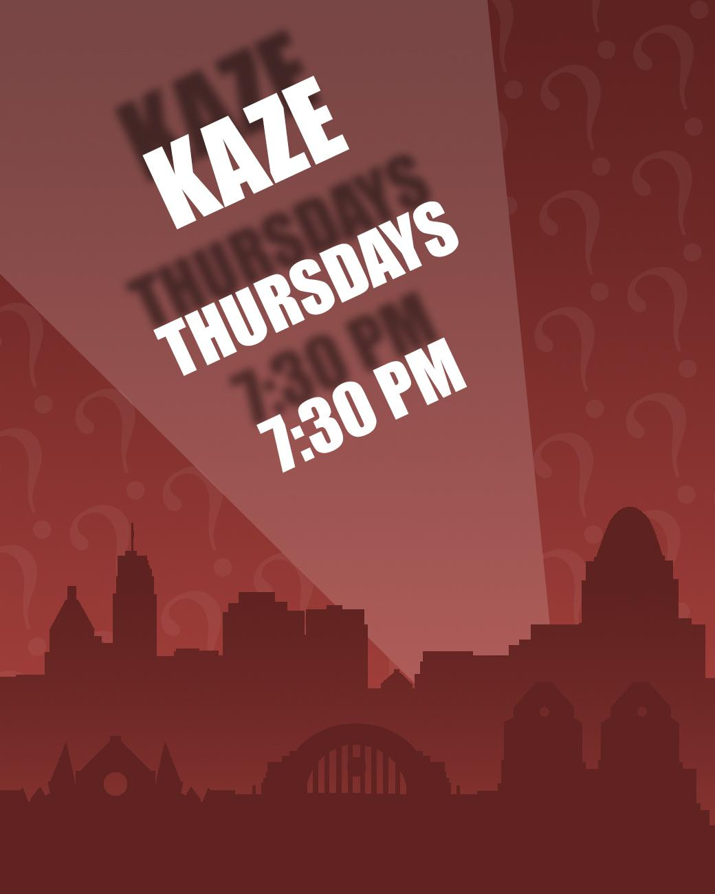 Kaze has trivia every Thursday starting at 7:30 PM. ADDRESS: 1400 Vine Street (45202) / Image: Phil Armstrong, Cincinnati Refined // Published: 8.30.17