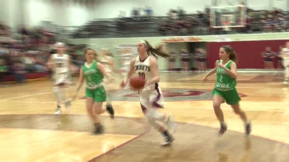 2.3.17 Video- Charleston Catholic vs. Wheeling Central- high school girls basketball