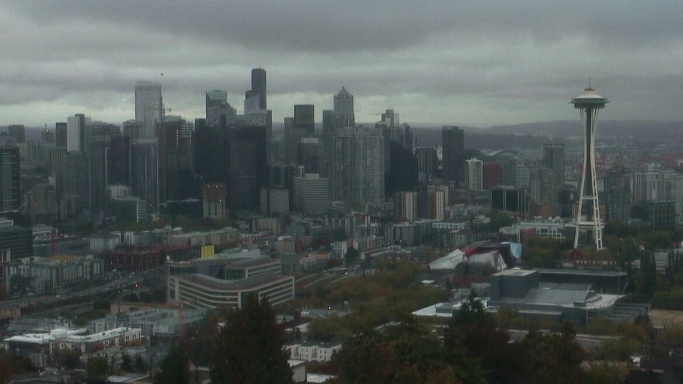 "Why Seattleites don't need umbrellas: Day-long ""drizzle storm"" hardly dents rain gauge"