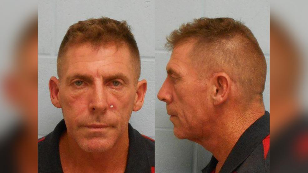 Marcus Brown Hopkins, 49, of Spring was charged with forgery, a third-degree felony. (Photo courtesy of the McAllen Police Department)