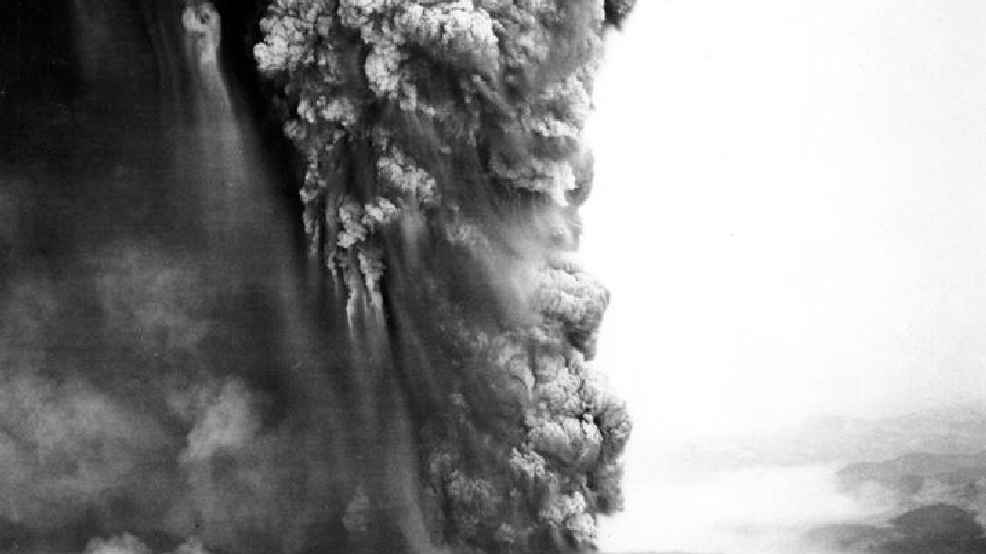 the creative writing the eruption of mount saint helens Portland, oregon – a cloud of white steam and ash rose as high as 36,000 feet from mount st helens in the us state of washington at 5:27 pm pst today the eruption was visible from the.