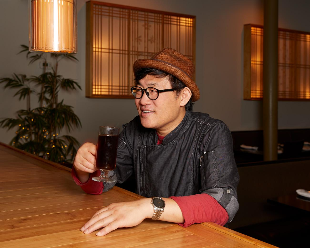Chef Sung Jun Oh, owner / Image: Marlene Rounds // Published 9.18.18
