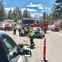 2 transported after crash in South Lake Tahoe
