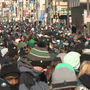 Millions celebrate Eagles victory with parade in Philly