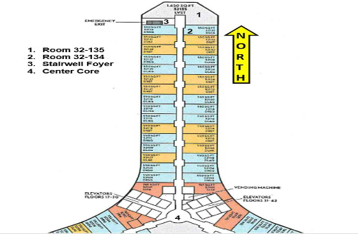 Mandalay Bay Room Diagram Courtesy LVMPD{ }(Courtesy LVMPD)