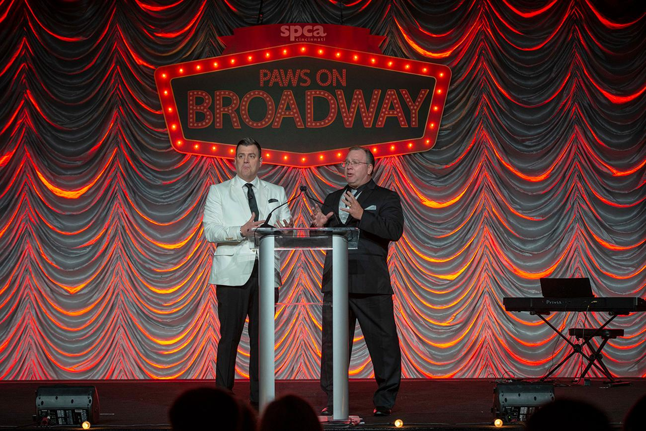 Adam Clements and SCPA President and CEO Jake White welcomes everyone to the gala / Image: Joe Simon // Published: 4.28.19