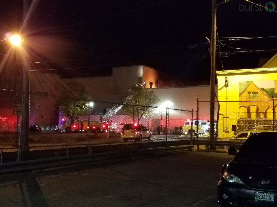 Investigators say a doughnut machine caused a 3-alarm fire in Lewiston Monday morning.(Courtesy:{&amp;nbsp;}Paul Masse)<p></p>