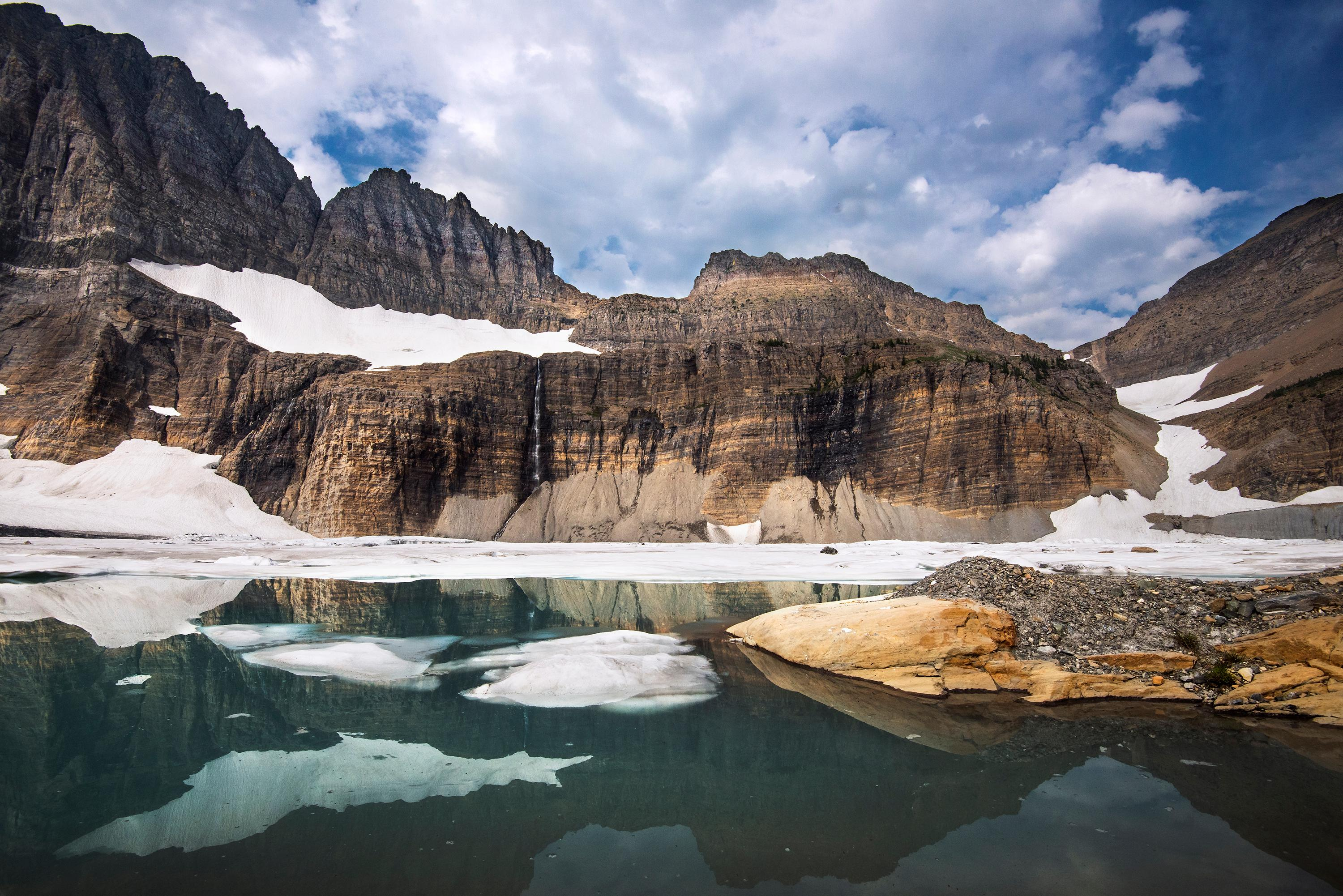 The park consists of more than one million acres and is a true outdoors person location. In the mid-19th century, the park hosted over 150 glaciers, as of 2010, only 25 active glaciers remain and few can be easily seen. Photo Credit: NPS / Tim Rains