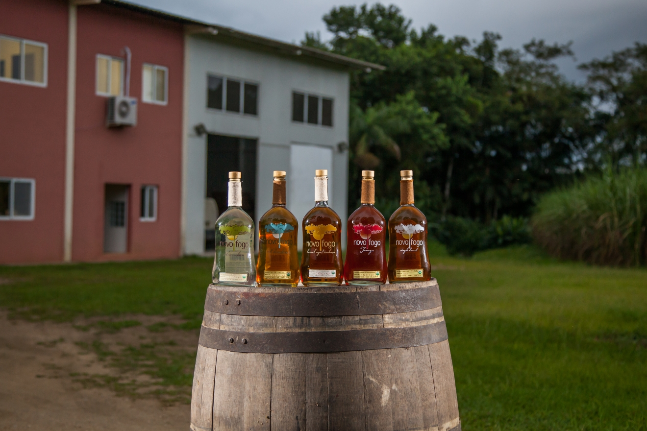Novo Fogo Cachaca Line Up (Photo: Novo Fogo Cachaca)