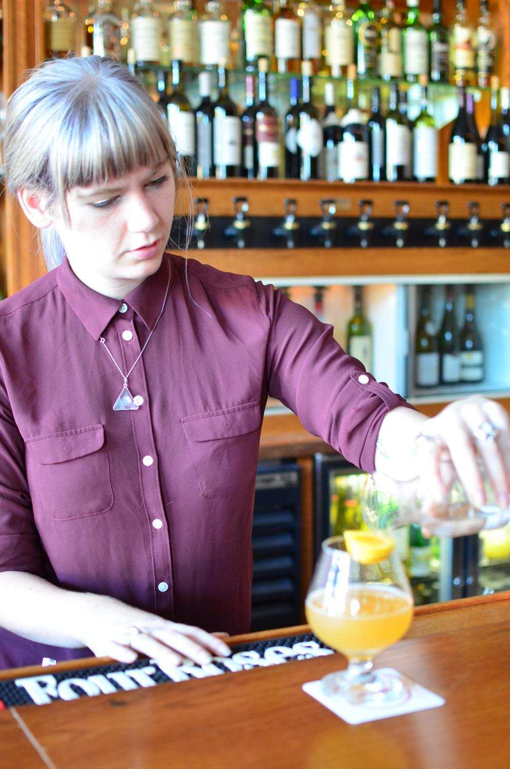 Kiki, the bartender / Image: Leah Zipperstein, Cincinnati Refined
