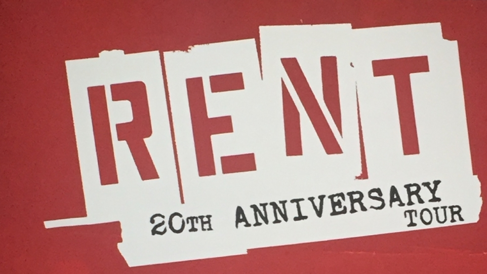 'Rent' 20th Anniversary Tour coming to North Charleston PAC in October