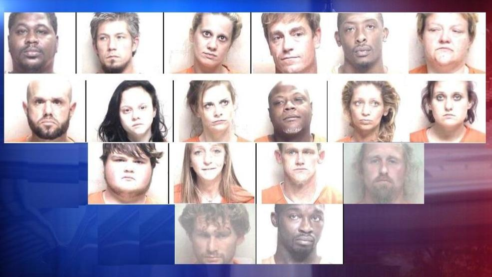 Deputies: 19 arrested in Laurens County drug bust operation