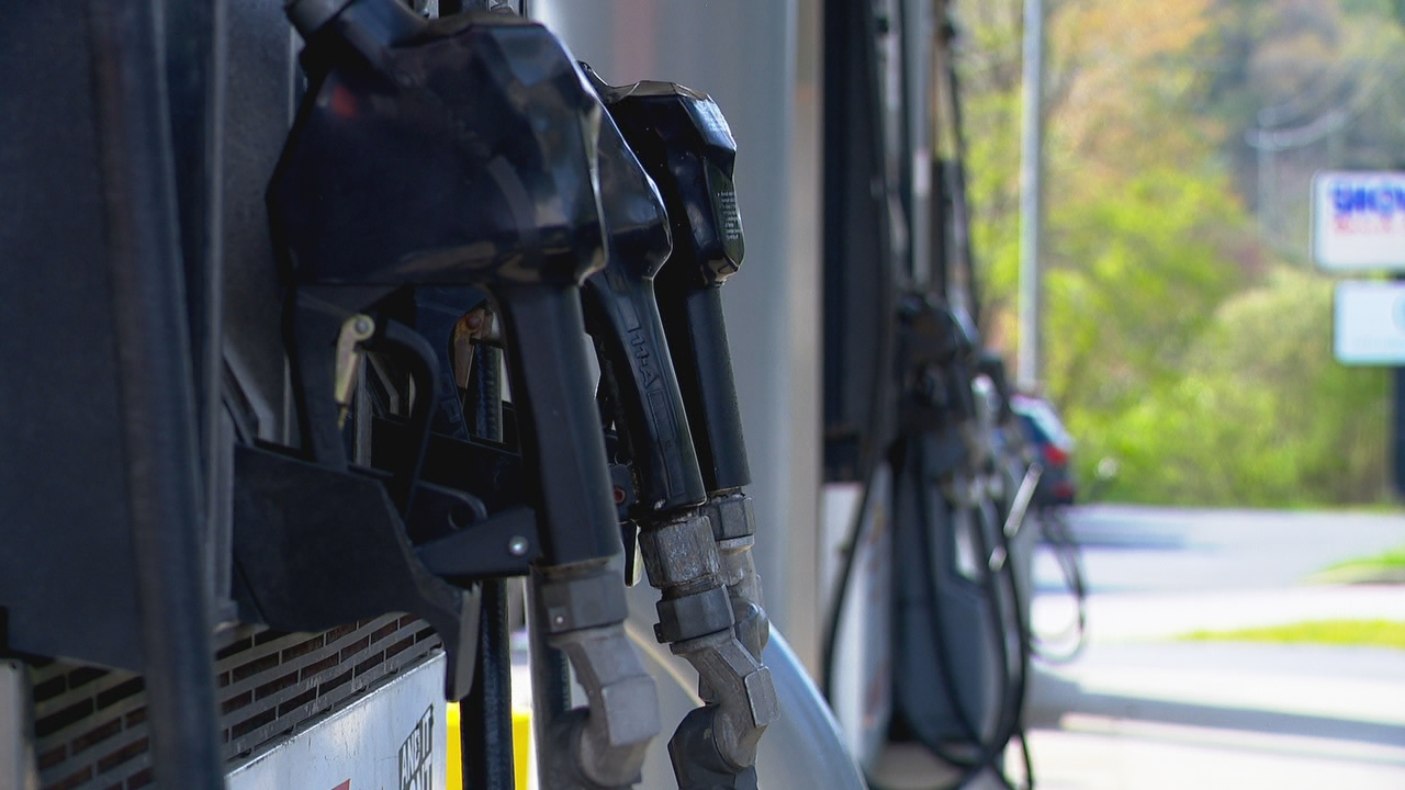 FILE - Gas pumps (Photo credit: WLOS Staff)