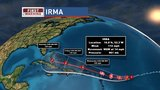 Irma Strengthens to category 3 as it makes its way toward the east coast