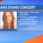 Sara Evans concert to promote mental awareness