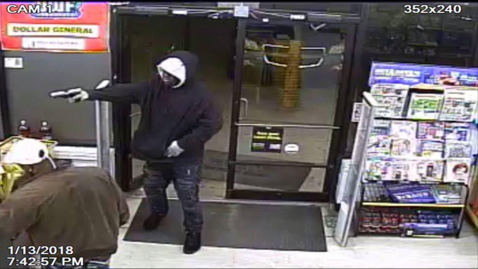 ecso seek help in identifying dollar general robbery suspect wear