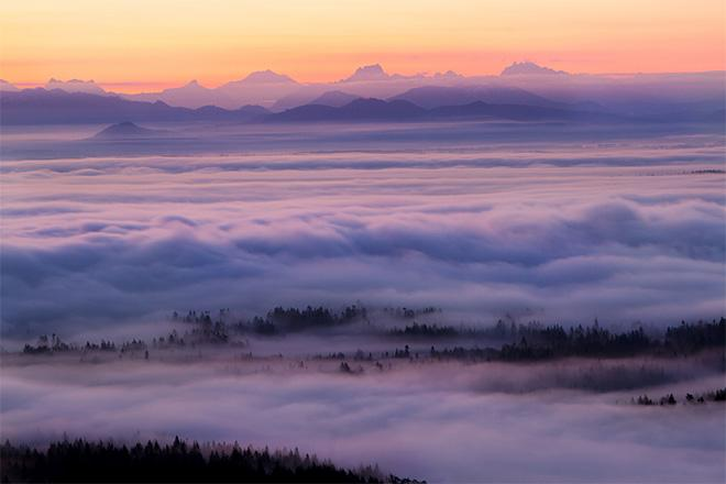 Sunrise Mt. Erie - Anacortes, Washington (Photo: Jonathan Cooper)