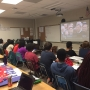 Westover students learn from viewing inauguration