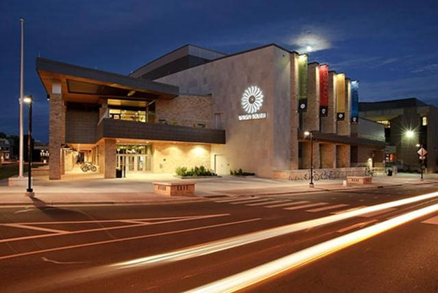 The opulent student union first opened on April 15, 2011 after a $94.8 million dollar construction project.  It is home to a 330-seat cinema called the Marquee, which presents hundreds of film screenings each year.