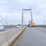 WSDOT resurfacing cable bridge, down to one-lane