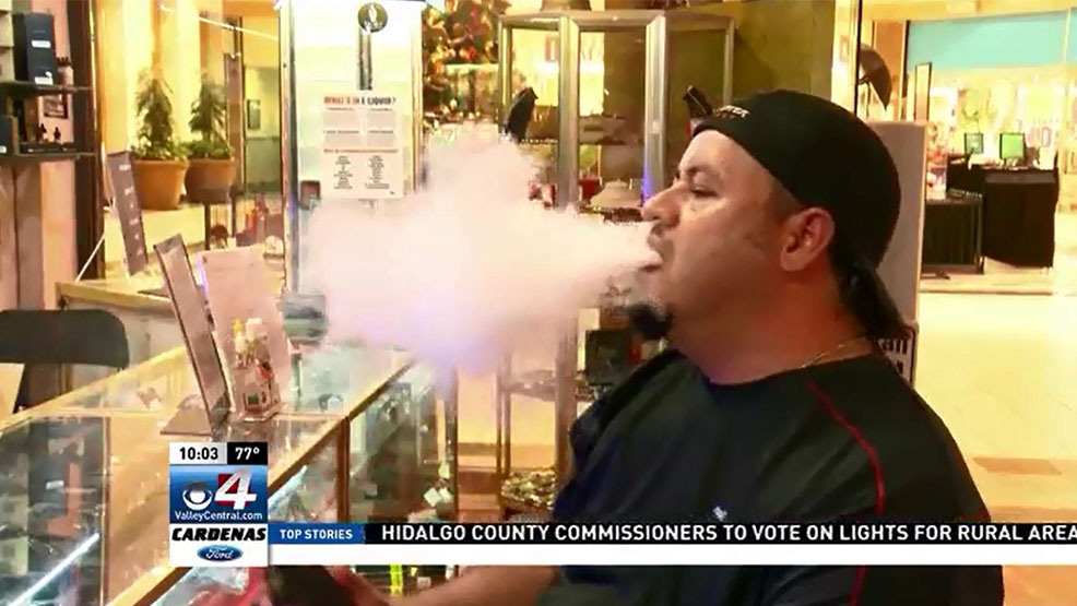 "New regulations for e-cigarettes and so-called ""vaping"" devices have irked some local users, who believe they're safer than traditional cigarettes. (CBS 4 News)"