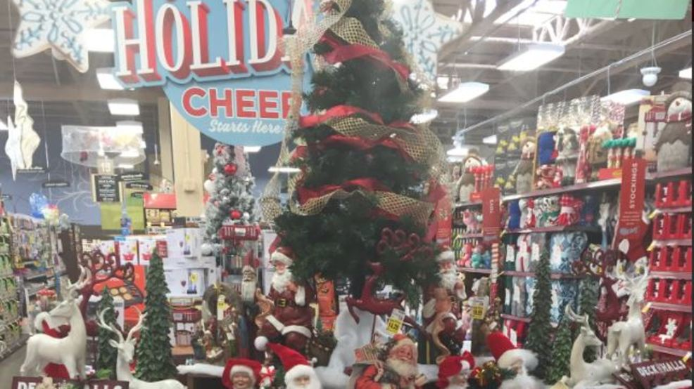 christmas creeps into local stores and homes