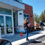 Car slams into front of Rogue Credit Union in Central Point