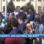 Several local schools participating in the nationwide 'walkout' today