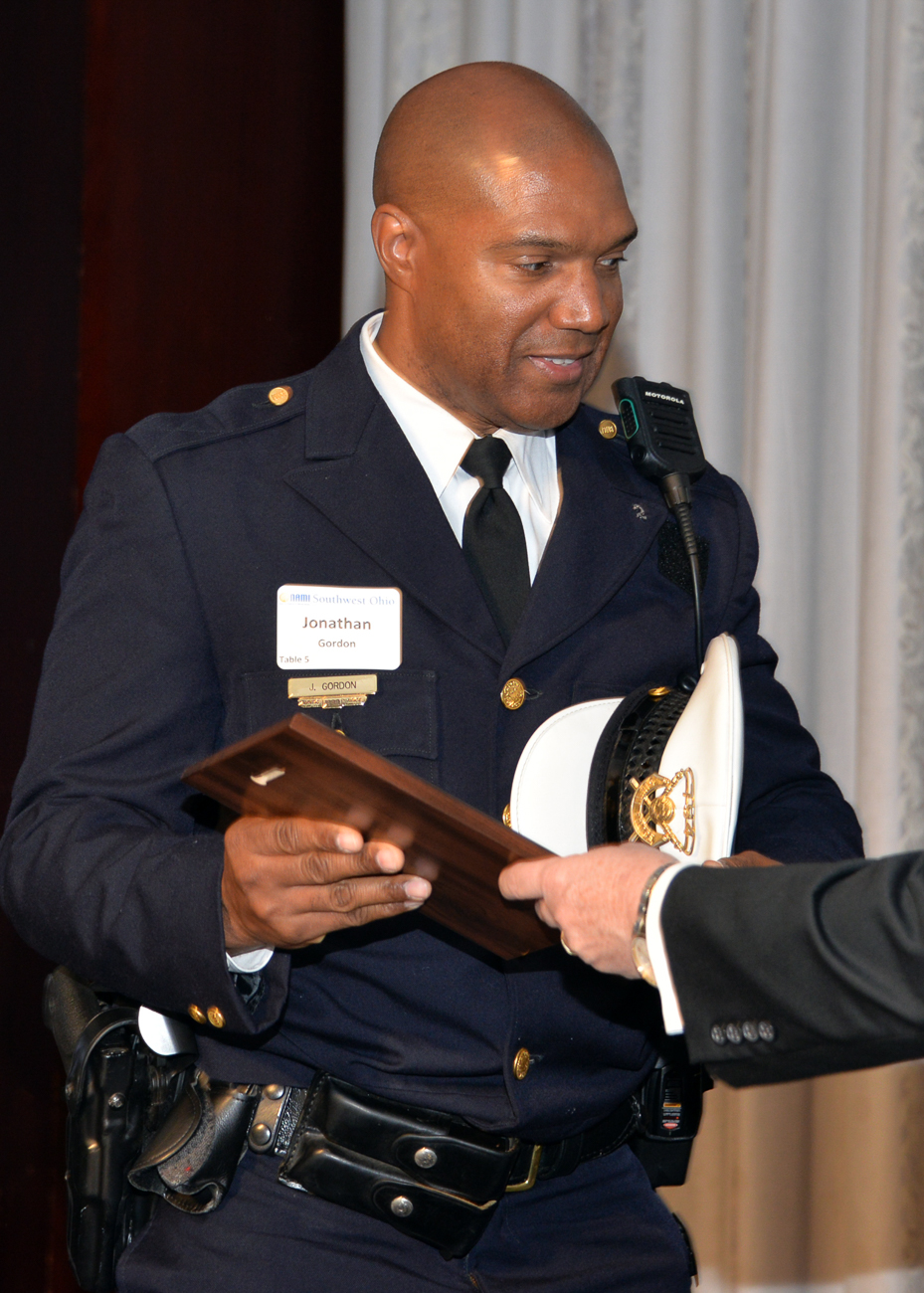 CPD Officer Jonathan Gordon, 2017 Award Winner / Image: Tom Uhlman Photo // Published: 10.3.19