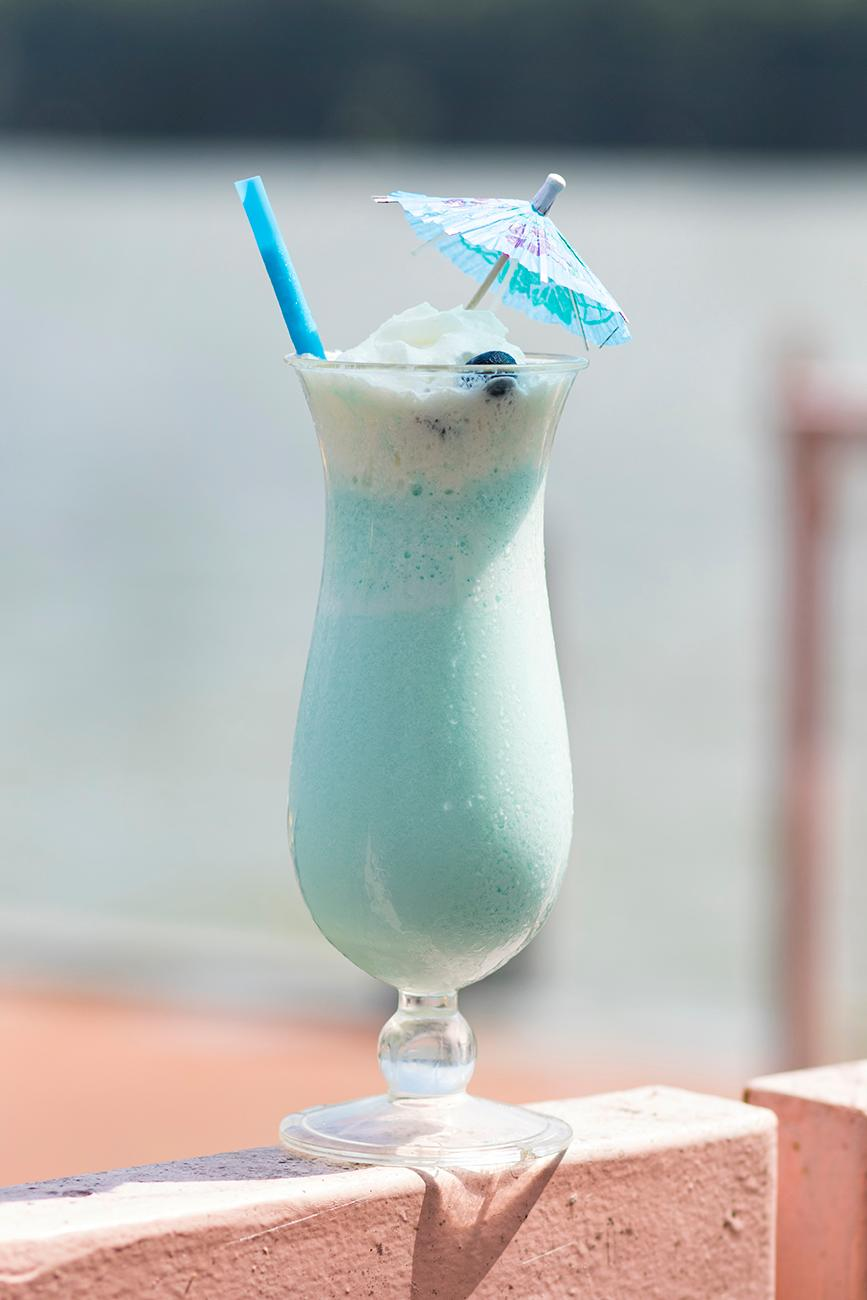 <p>The Betty Boop: a signature blueberry cocktail created by Darcy{&amp;nbsp;}/ Image: Allison McAdams // Published: 9.10.18{&amp;nbsp;}</p>