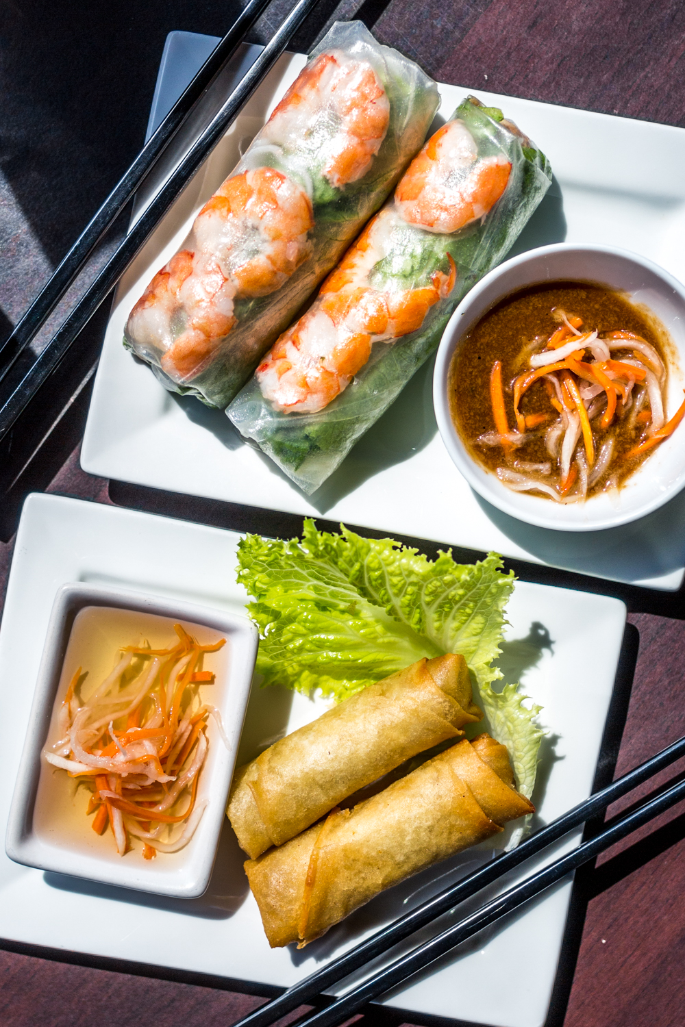Spring rolls and egg rolls / Image: Catherine Viox // Published: 9.28.19{ }