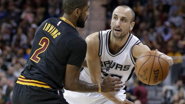Spurs' Ginobili out vs. Hawks with thigh contusion