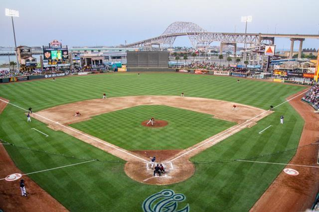 Whataburger Field is home to the Corpus Christi Hooks, Class AA affiliate of the Houston Astros.