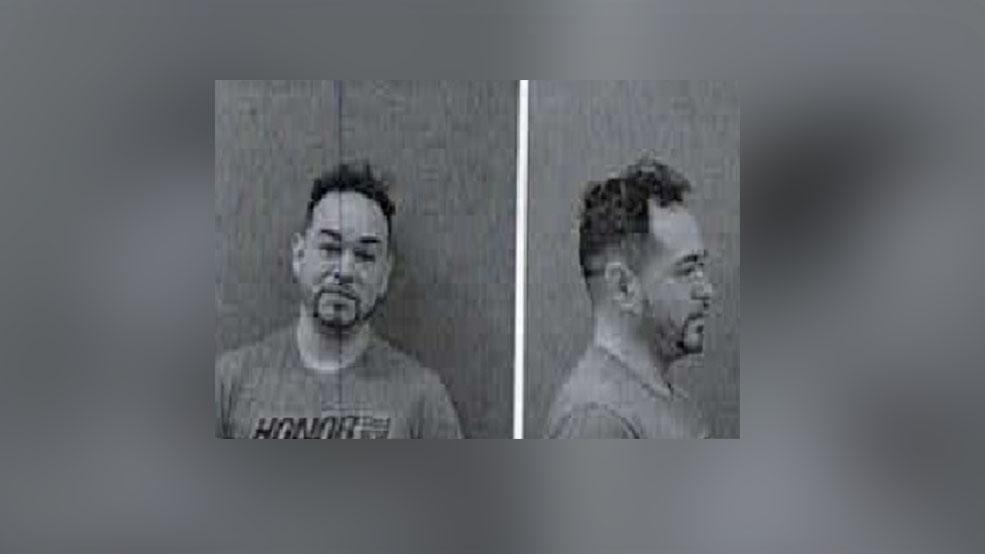 Gonzalo Omar Acuna is accused of vandalizing multiple sites in the downtown area along Houston Avenue during the weekend. (Photo: McAllen Police Department)
