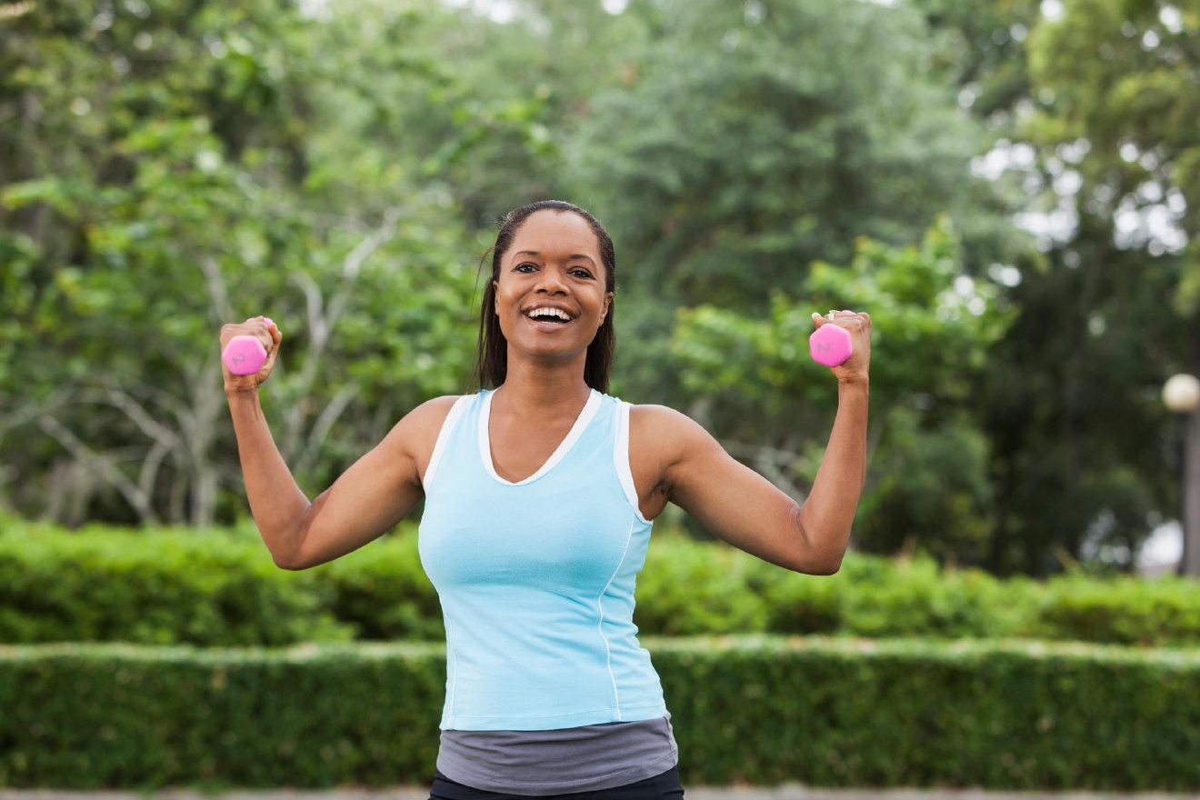 Exercise is a key component of any weight-loss program. Weight-training in particular can patients build muscle and burn fat through simple movements.