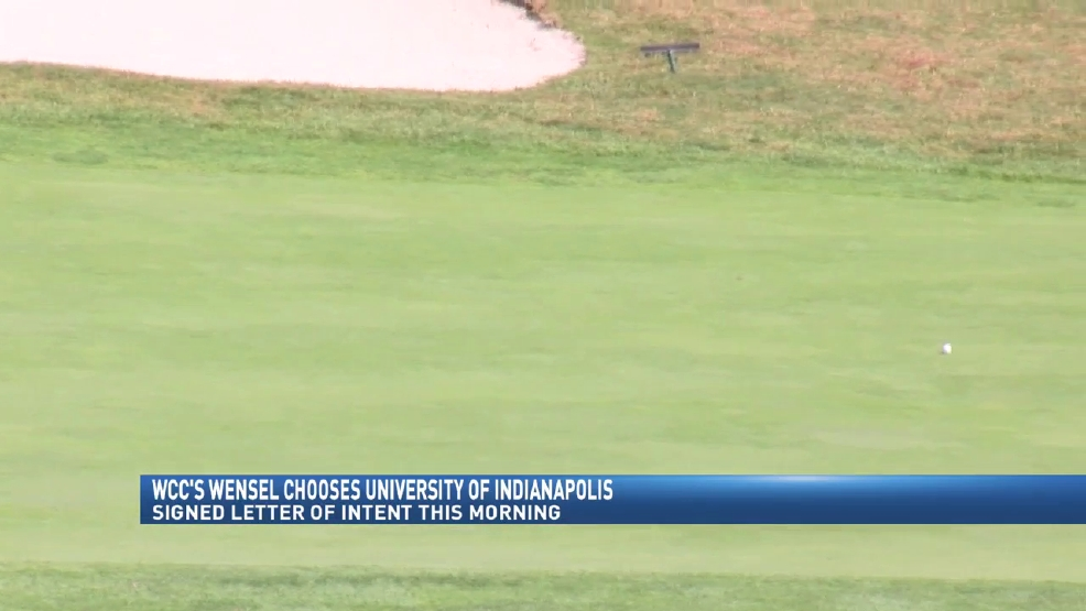 11.10.16 Video- Wheeling Central's Wensel chooses University of Indianapolis