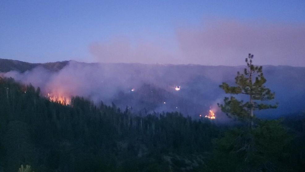 East Fire grows to 200 acres with no containment in Trinity County