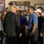 President Trump visits with Hurricane victims in Louisiana