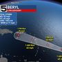 Beryl weakens into tropical storm